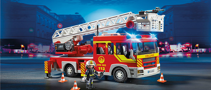 Playmobil Brandweer